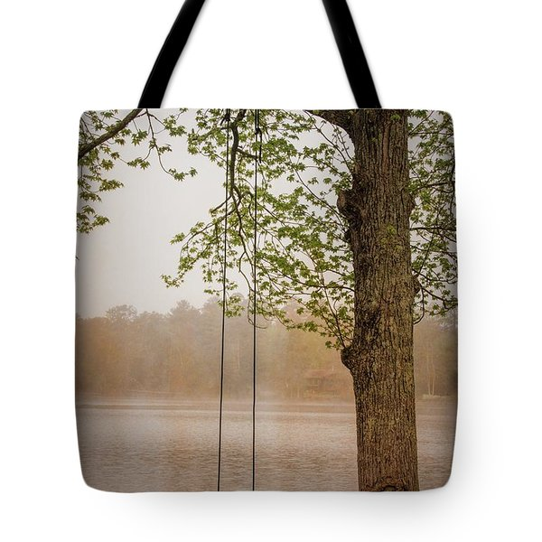 Serenity On The Lake Tote Bag