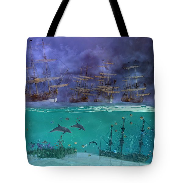 Serenity Point Tote Bag by Betsy Knapp