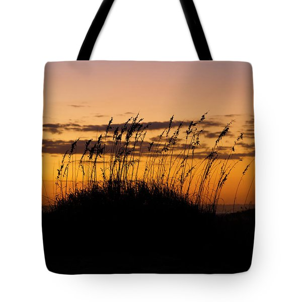 Serenity Point Sunset Tote Bag