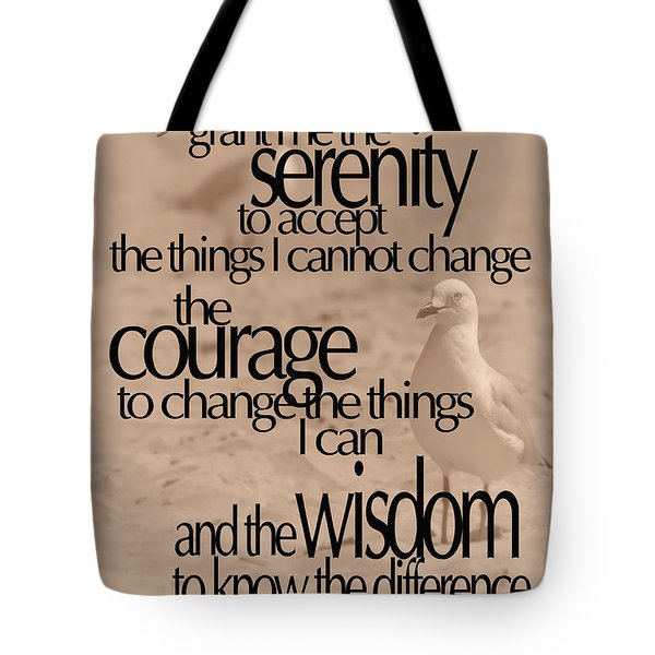 Serenity Prayer 04 Tote Bag