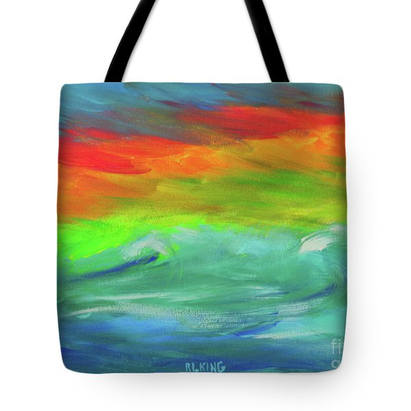 Serenity Sunrise  Tote Bag