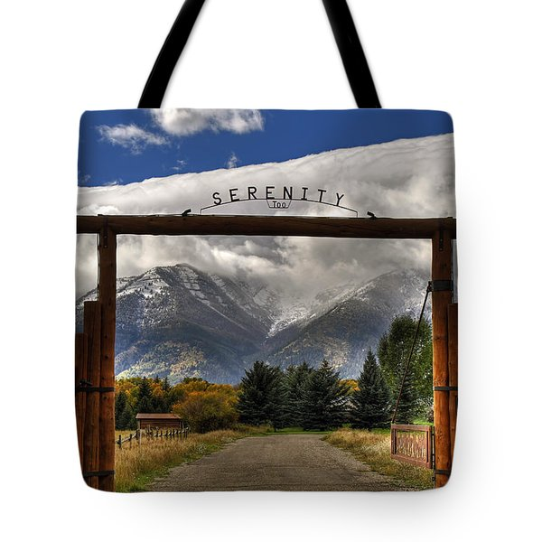 Serenity Too Tote Bag
