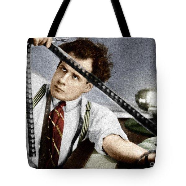 Tote Bag featuring the photograph Sergei Eisenstein by Granger