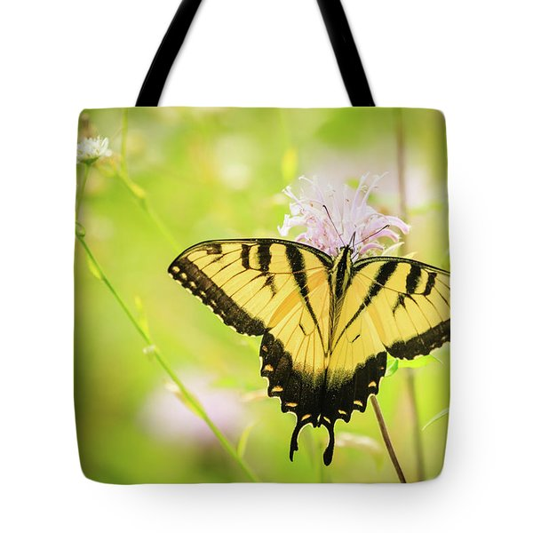 Series Of Yellow Swallowtail #6 Of 6 Tote Bag