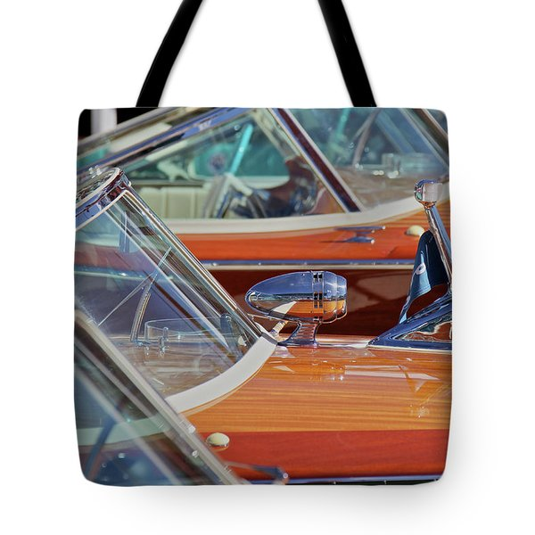Riva Row Tote Bag