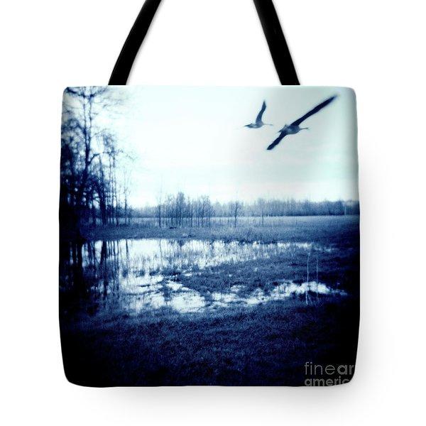 Series Wood And Water 3 Tote Bag