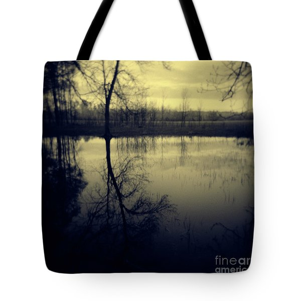 Series Wood And Water 5 Tote Bag