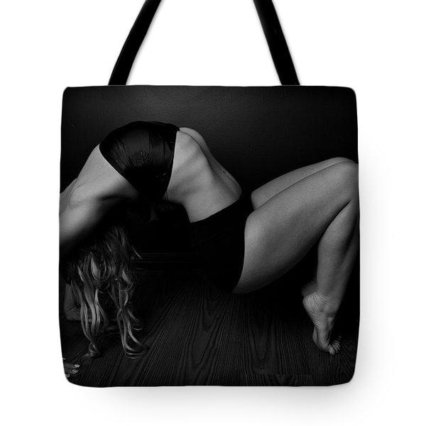Serious Back Bend Tote Bag