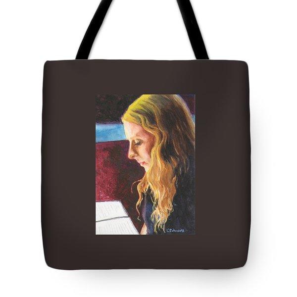 Serious Contemplation Of A Menu Tote Bag by Connie Schaertl