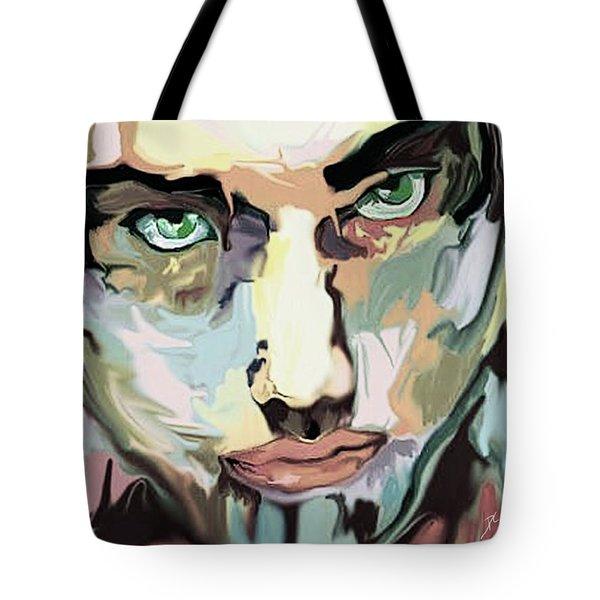 Serious Face Tote Bag