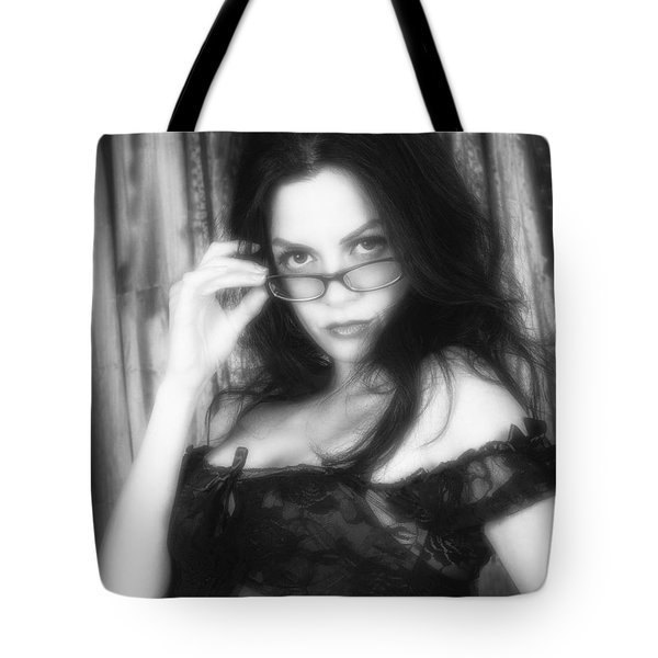 Tote Bag featuring the photograph Seriously  ... by Chuck Caramella