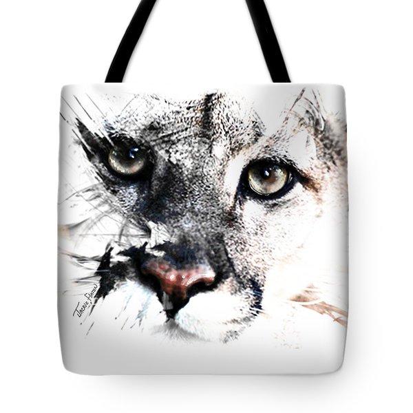 Seriously Cougar Tote Bag