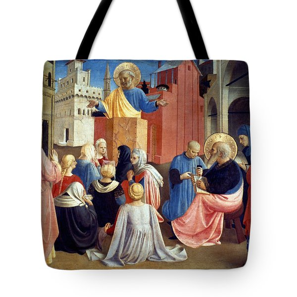 Sermon Of St Peter Tote Bag by Granger