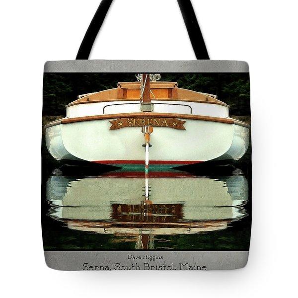 Serna, South Bristol, Maine  Tote Bag by Dave Higgins