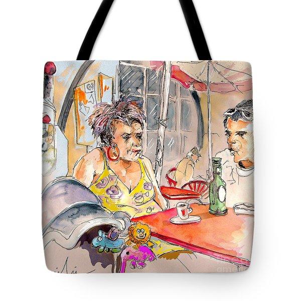 Serpa  Portugal 34 Tote Bag by Miki De Goodaboom