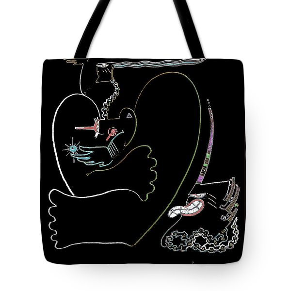 Serpent Moon Tote Bag