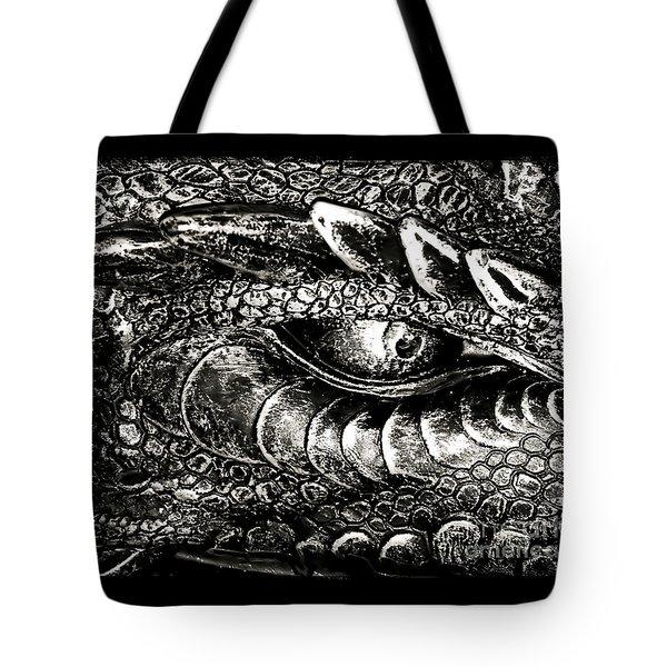 Serpentine Tote Bag by Catherine Melvin