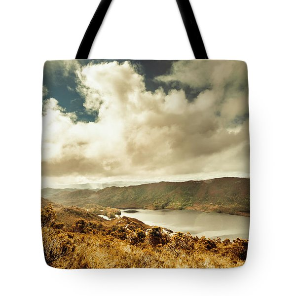 Serpentine Dam Tasmania Tote Bag