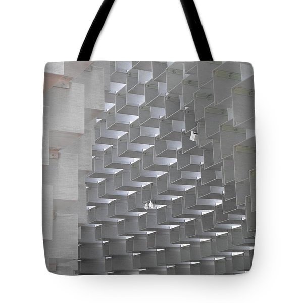 Serpentine Pavilion 09 Tote Bag