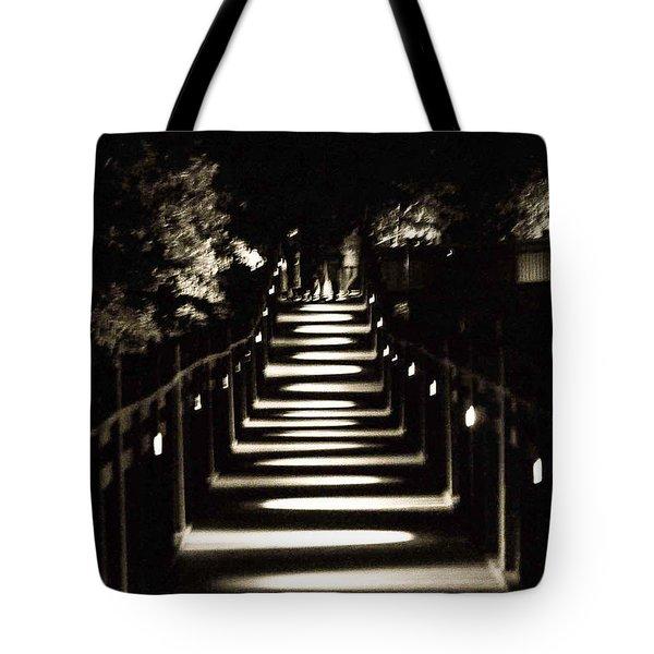 Serpentine Shadow Tote Bag