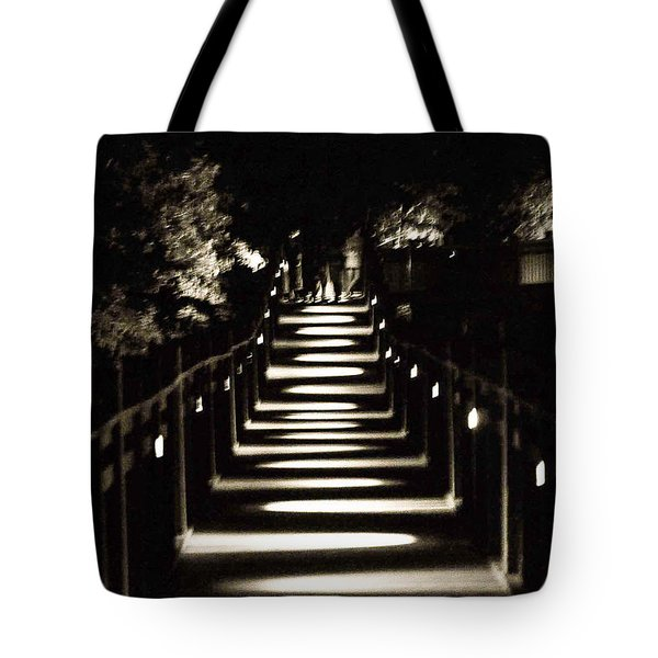 Serpentine Shadow Tote Bag