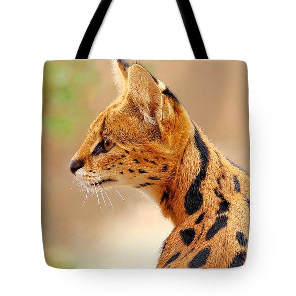 Serval - Extreme Hunter Tote Bag
