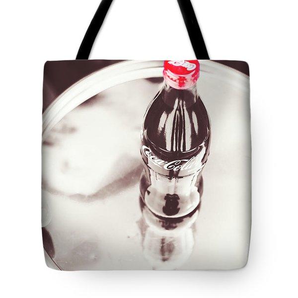 Service At The Soda Shop Tote Bag