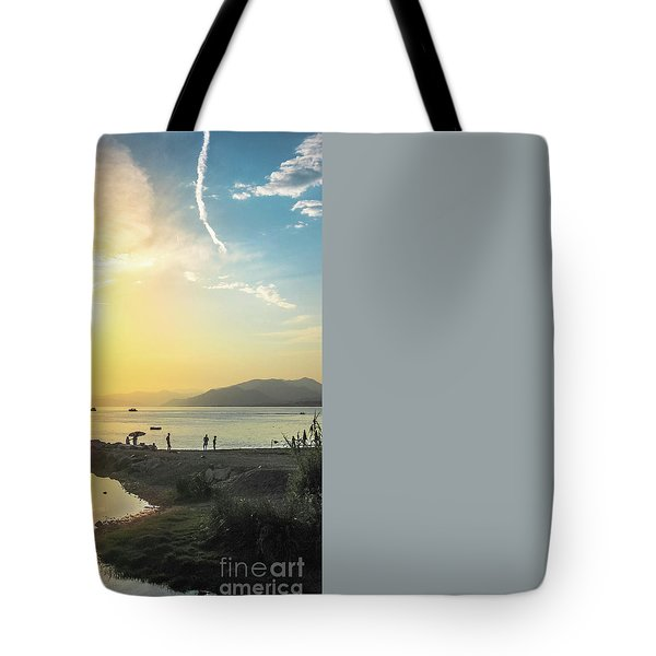 Tote Bag featuring the photograph Sestri Levante Baia Delle Favole by Benny Marty