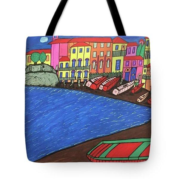 Sestri Levante Italy Tote Bag by Jonathon Hansen