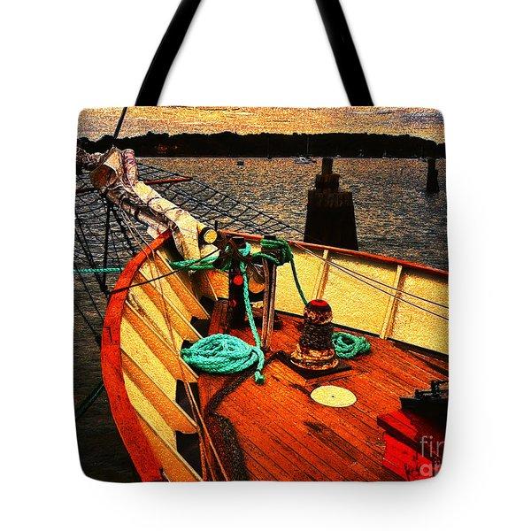 Set Sail Tote Bag by Jeff Breiman