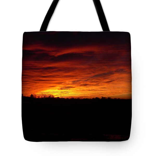 Set The Sun Tote Bag