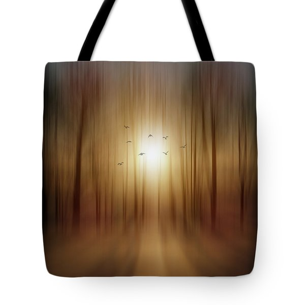 Setting Sun Tote Bag