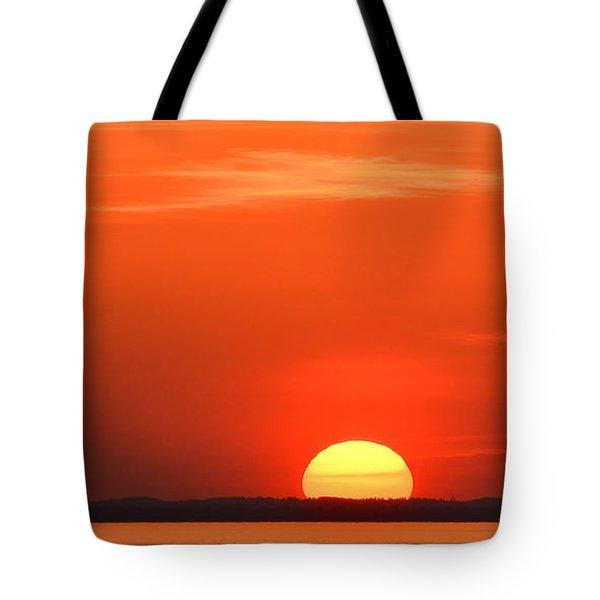 Setting Sun Halibut Pt. Tote Bag