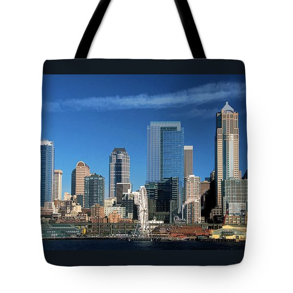 Seattle, Wa, Fine Art Print Tote Bag by Greg Sigrist