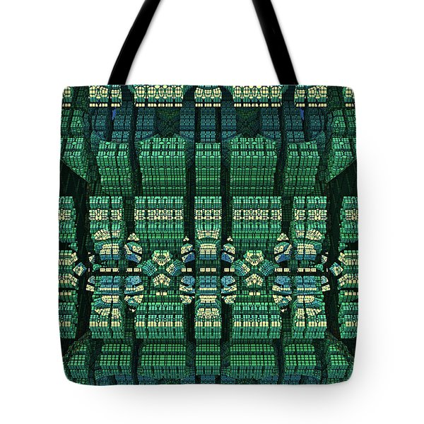 Settlement In Deep Space Tote Bag