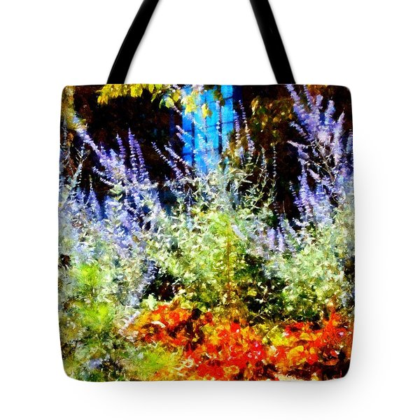 Settlers Inn Garden Reflections Tote Bag