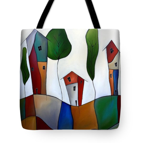 Settling Down Tote Bag