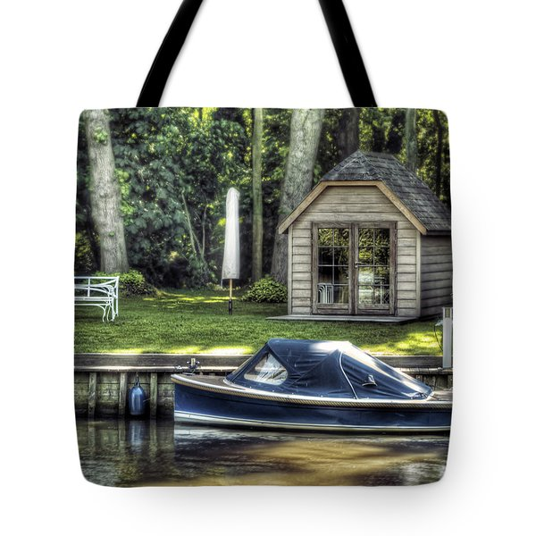 Settling Tote Bag by Wim Lanclus
