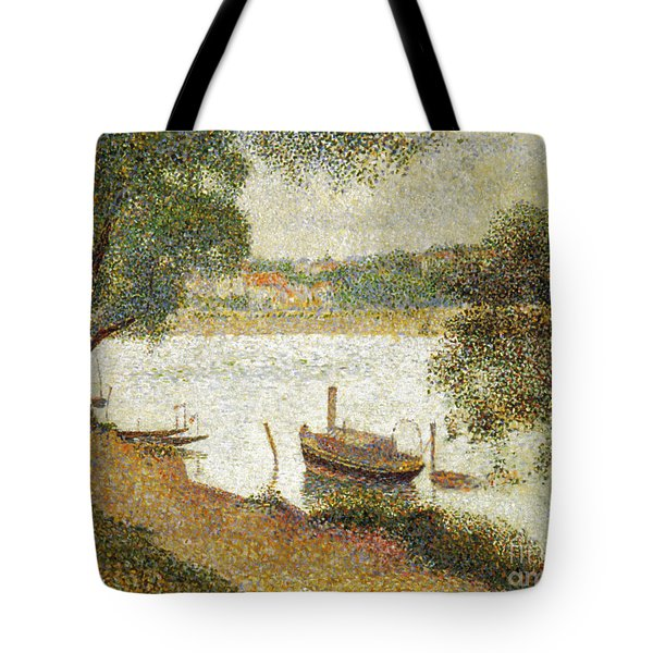Seurat: Gray Weather Tote Bag by Granger