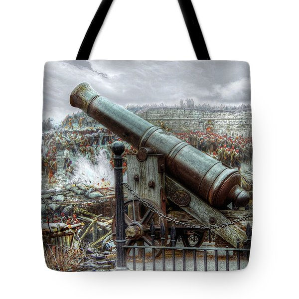 Sevastopol Cannon 1855 Tote Bag