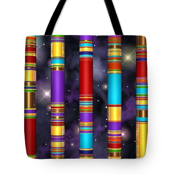 Seven Tote Bag by Andreas Thust
