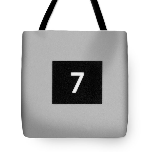 Tote Bag featuring the photograph Seven by Christi Kraft