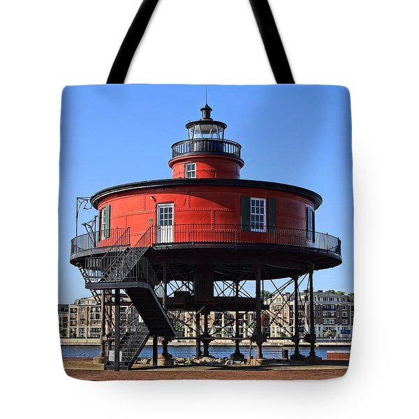 Seven Foot Knoll Tote Bag