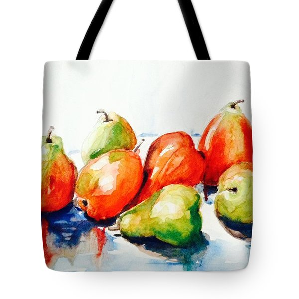 Seven Pear Tote Bag