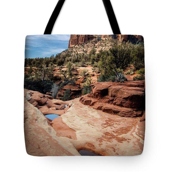 Seven Sacred Pools Tote Bag