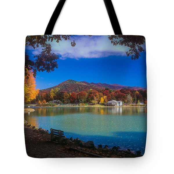 Seven Sisters From Lake Tomahawk Tote Bag