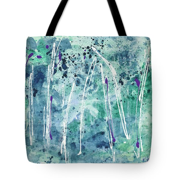 Tote Bag featuring the painting Seven Sisters by Kathryn Riley Parker