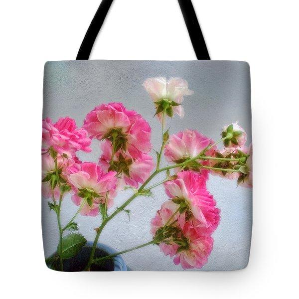 Seven Sisters Roses Tote Bag