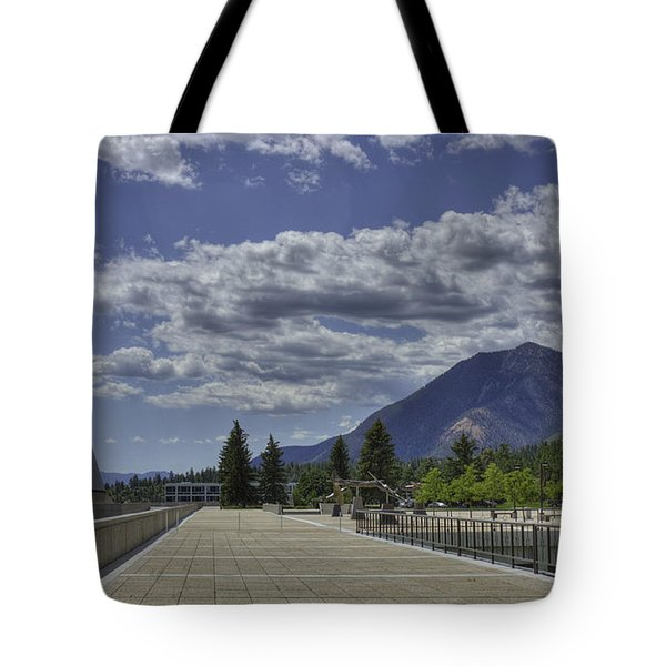 Seventeen Spires Tote Bag by David Bearden