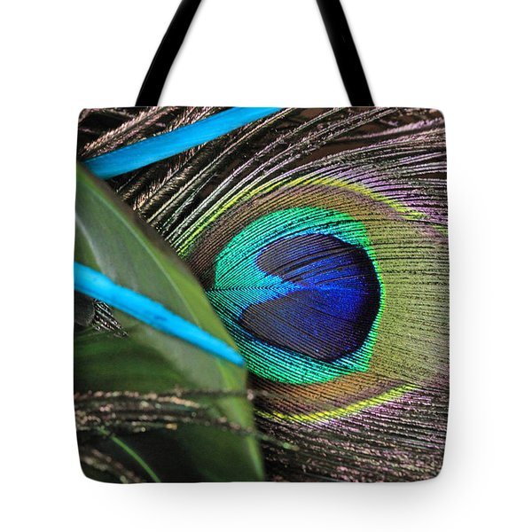 Several Feathers Tote Bag